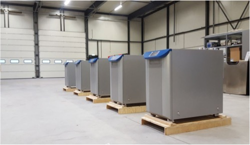 First Commercial Units Delivered