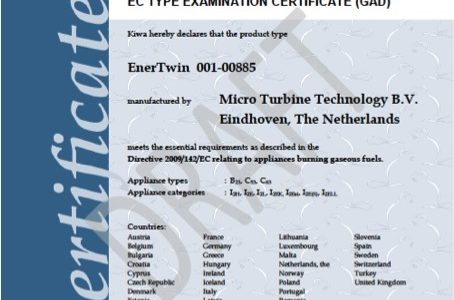 CE Certification for EnerTwin
